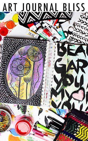 art journal bliss online class