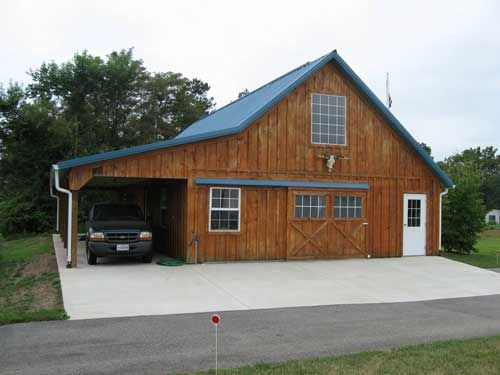 blue chip structures inc pre engineered post frame buildings in central pa