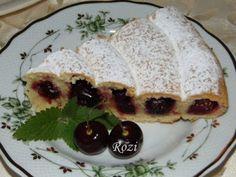 Rozi Erdélyi konyhája: Rendkivüli cseresznyés pite