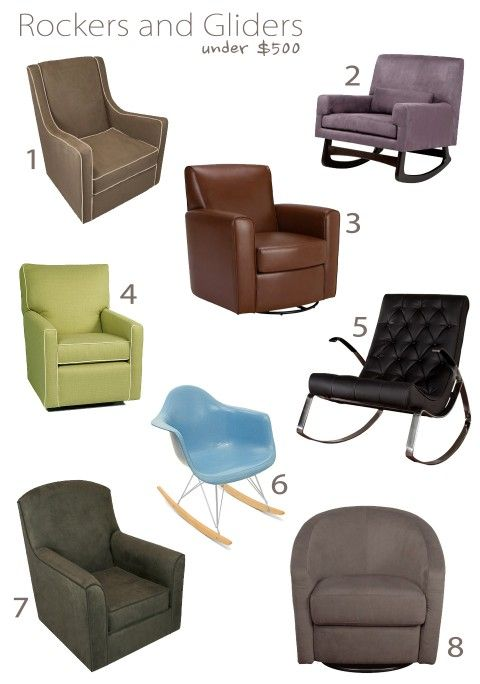 Great Collection Of Gliders Rockers Under 500 From Esther Modernbaby Nursery Design Furniture Pinterest Baby And Room