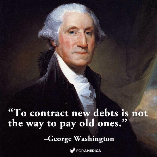 Quotes by famous folks....George Washington