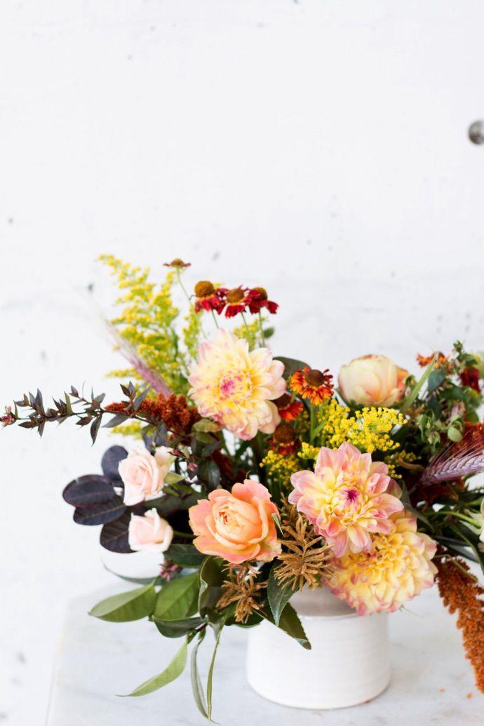 Fall flower arrangements tips