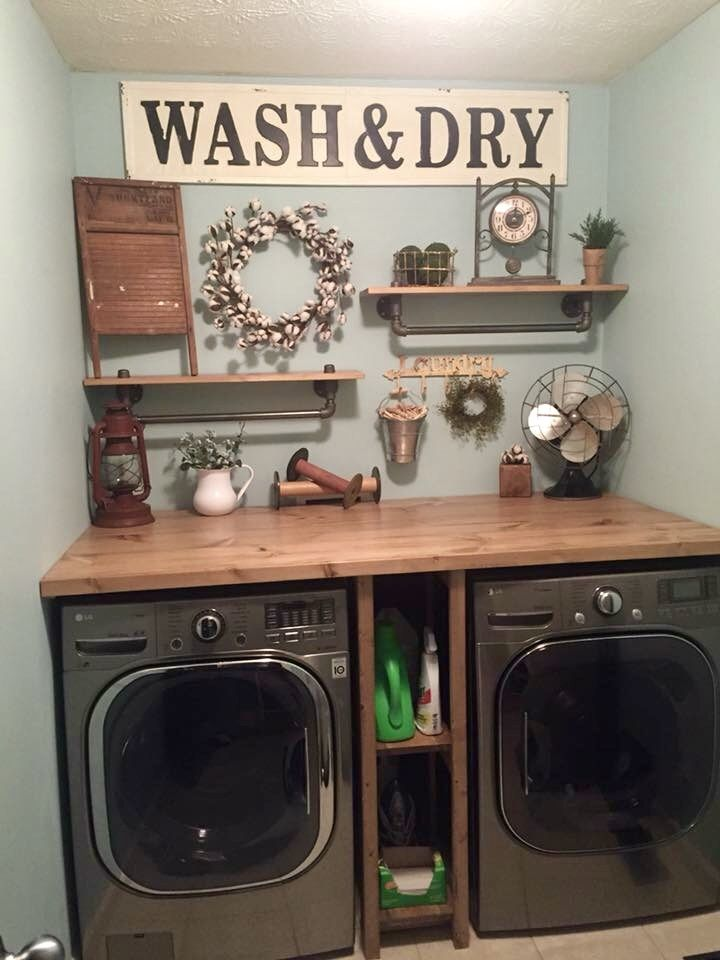 Pin By Beth Kiesel On Laundry Room Rustic Laundry Rooms Laundry