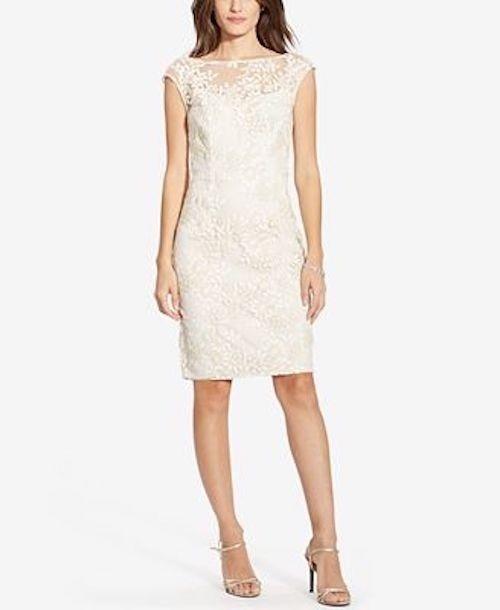 Lauren Ralph Lauren Embroidered Floral Print Dress WORN ONCE Size 4 #LaurenRalphLauren