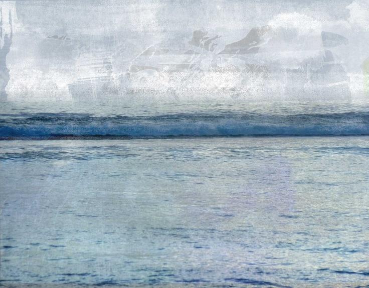 Winter sea, by Donna Wilson