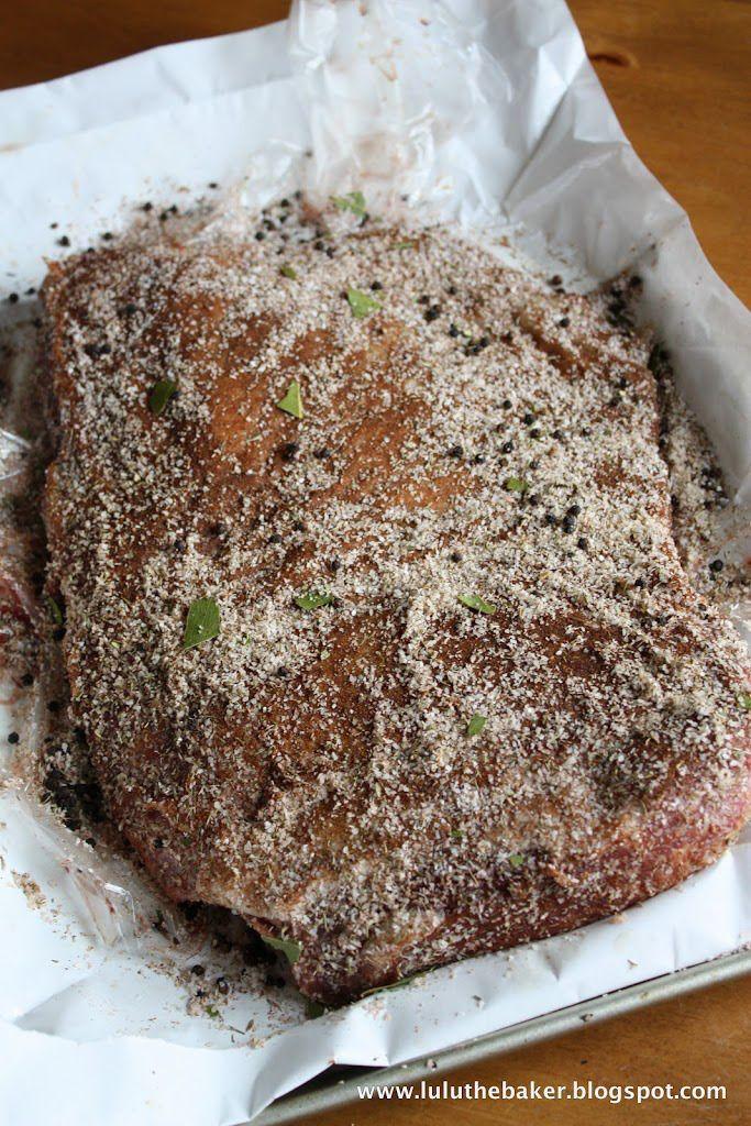 Homemade Corned Beef ~ Lulu the Baker