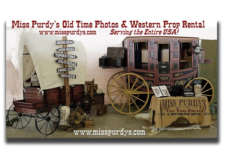 Old Time Photo Booth & Western Props for rent in San Diego CA with complete mobile service to the entire USA, complete with Backdrop, costumes, Accessories, & Guns!