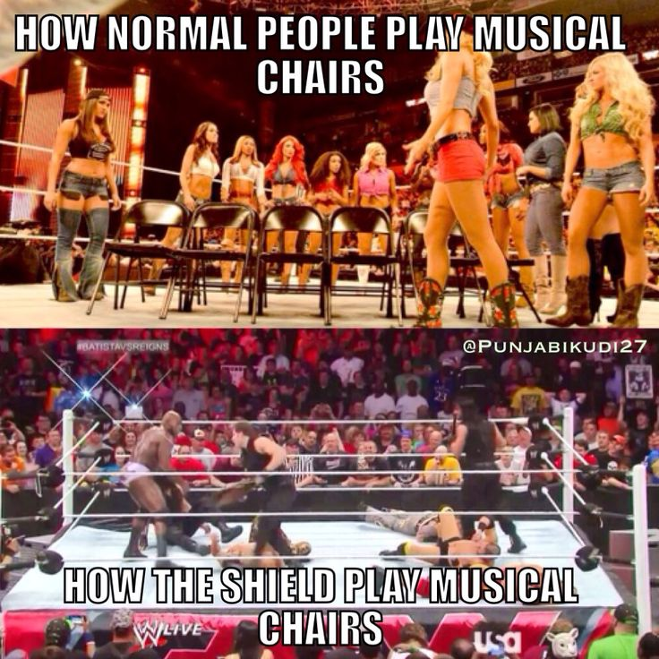 The Shield #WWE Wait so is that the wrong way to play...? oops.
