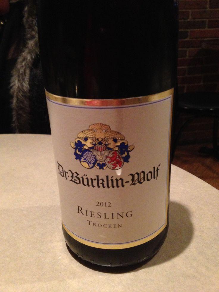 Dr. Bürklin-Wolf 2012 Riesling Trocken https://www.buerklin-wolf.de/