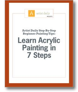 Beginner Painting Tips: Learn Acrylic Painting in 7 Steps ...BTW,Check this out: http://artcaffeine.imobileappsys.com