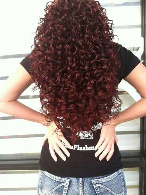 Very Long Curly Hair Cut