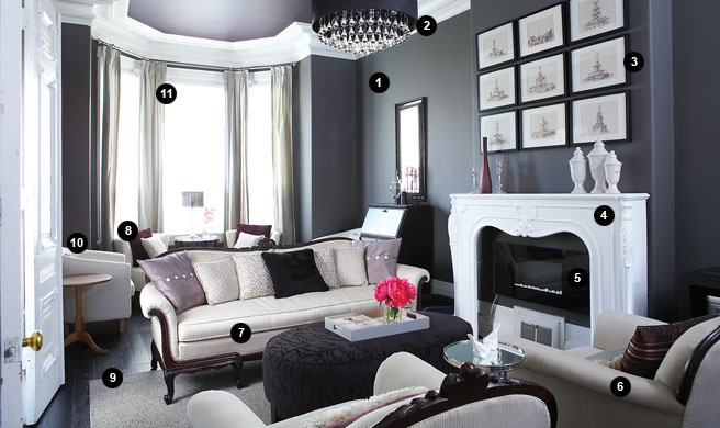 fireplace wall color kendall charcoal by benjamin moore