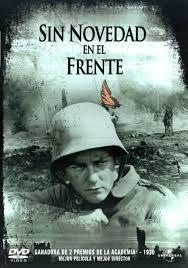 La mejor  película en 1930, premiada por la Academia es Sin Novedad en el Frente.