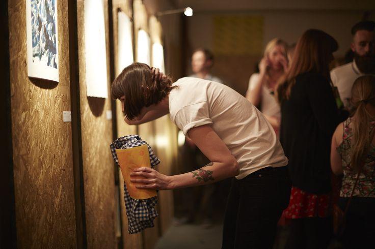 96 Editions flock launch night @ The Storeroom, Newcastle upon Tyne