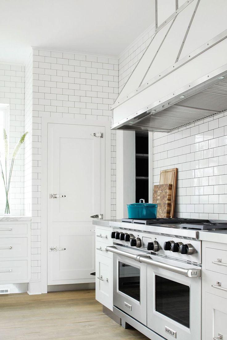 All white kitchen with white appliances - Scaling The Summit Kitchen Gallery Sub Zero Wolf Appliances All White