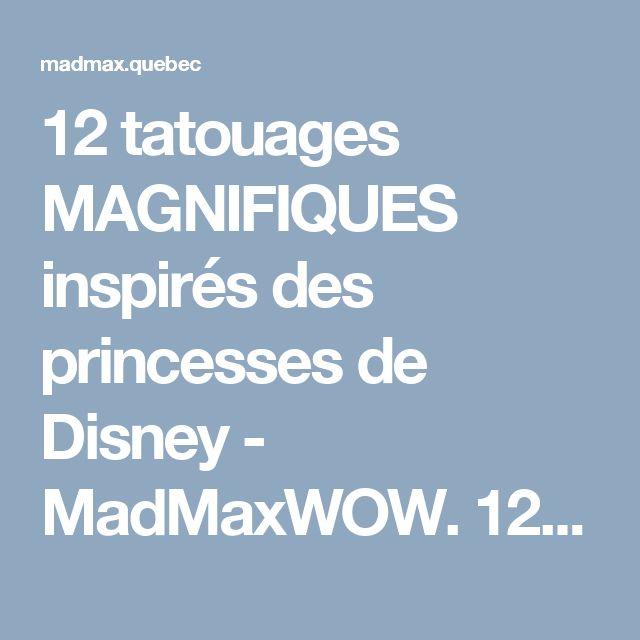 sur le thème Tatouage De Princesse Disney sur Pinterest  Tatouages ...