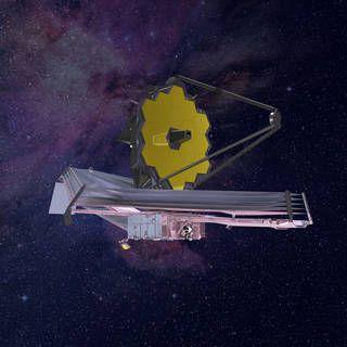 James Webb Space Telescope artist's rendering