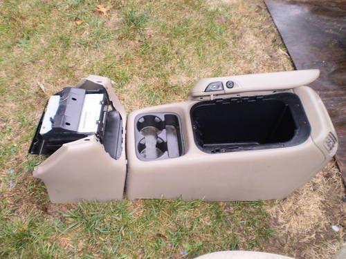 Chevy silverado center console grey 99 02 gmc pickup truck - Chevy truck interior accessories ...