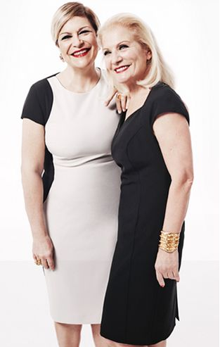 Daniela Fedi e Lucia Serlenga, le autrici del libro che ha dato vita alla collezione #OVSCurvyGlam   #OVSaw15 #OVS #Curvy