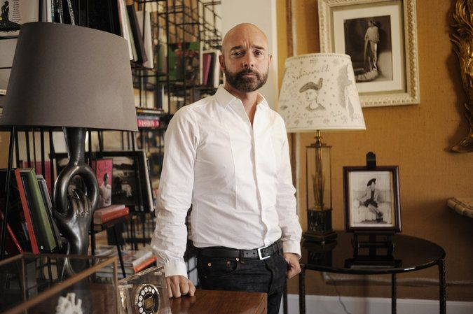 """Matthew Schneier, """"Bertrand Guyon, on Learning Schiaparelli,"""" The New York Times (7 July 2015). Images available here, http://www.nytimes.com/fashion/runway/schiaparelli/fall-2015-couture/10."""