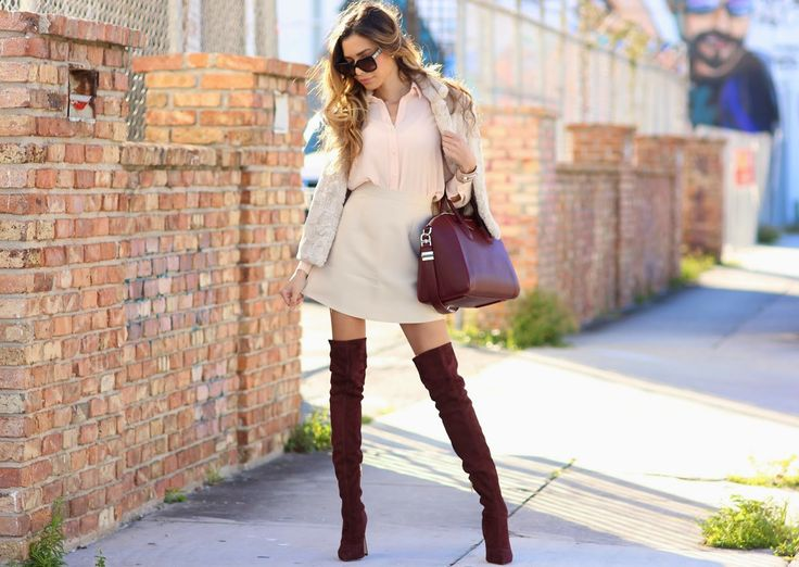 Jasmine Tosh Lately : Bordeaux x Neutrals with Missguided Clothing