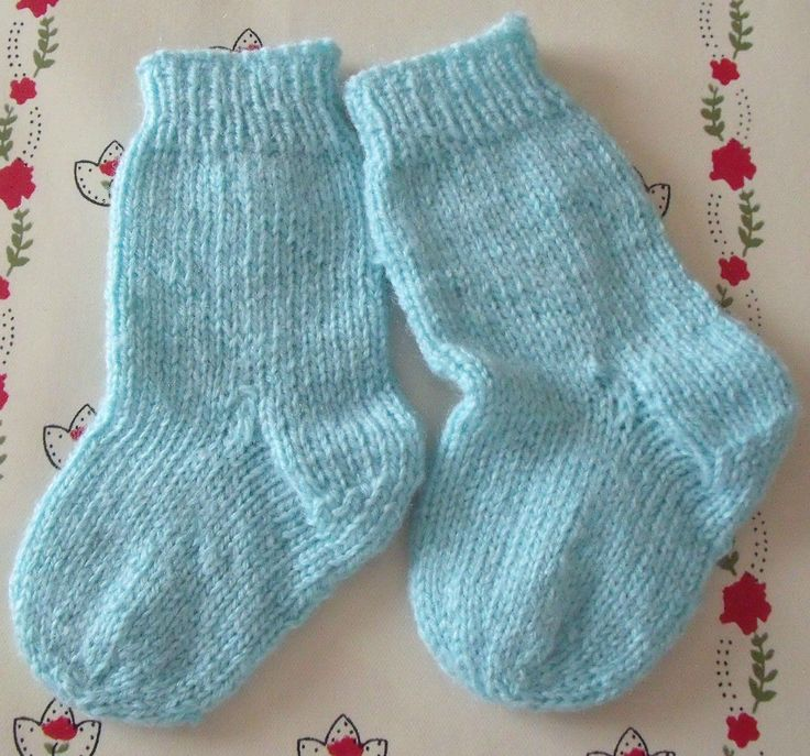 chaussettes turquoises