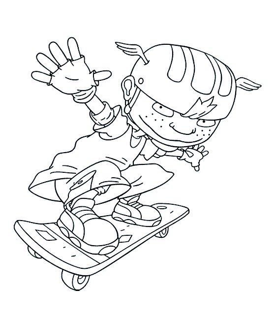 548 best images sports images on pinterest public for Rocket power coloring pages