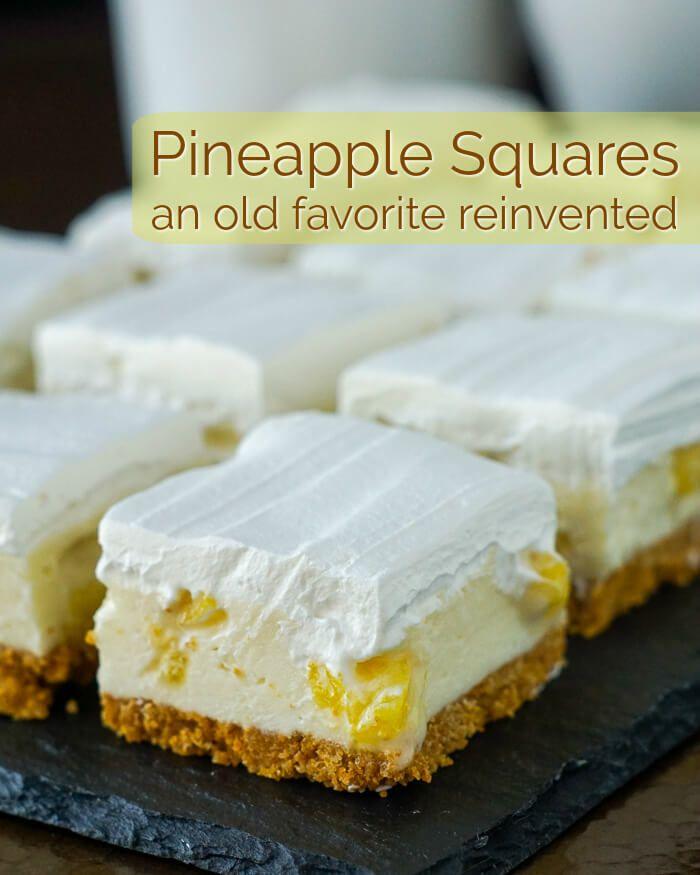 Pineapple Squares