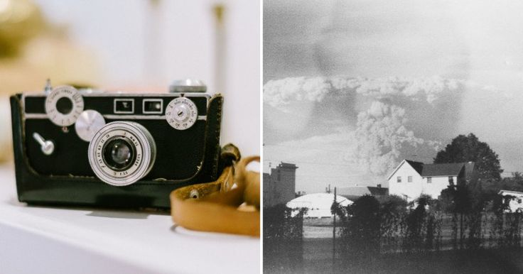 #Photography: Mt. St. Helens Eruption Photos Found on Thrift Store Camera Film