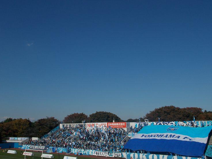 Yokohama FC gegen Montedio Yamagata in Nippatsumitsuzawa-stadion 03.11.2016 横浜FCvsモンテディオ山形 2016年度J2第39節 ニッパツ三ツ沢競技場