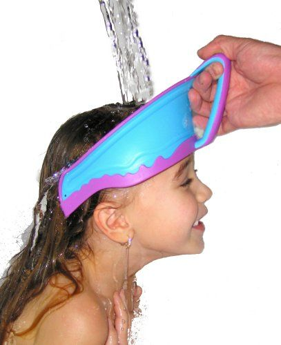 Wish I'd have had this when I was little! Lil Rinser Splashguard in Blue and Pink:Amazon:Baby