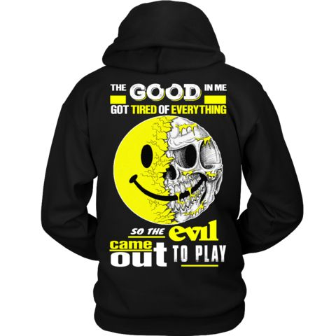 The Evil Came Out To Play. - We Love Skull