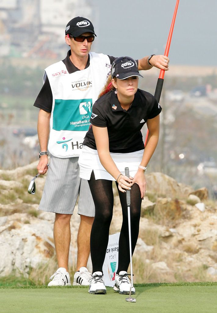 LPGA Tights — Paula Creamer   Golfing Women   Pinterest ...