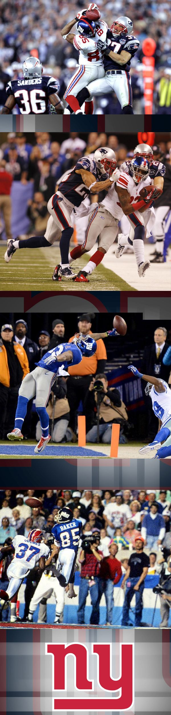 4 of the greatest catches in New York Giants