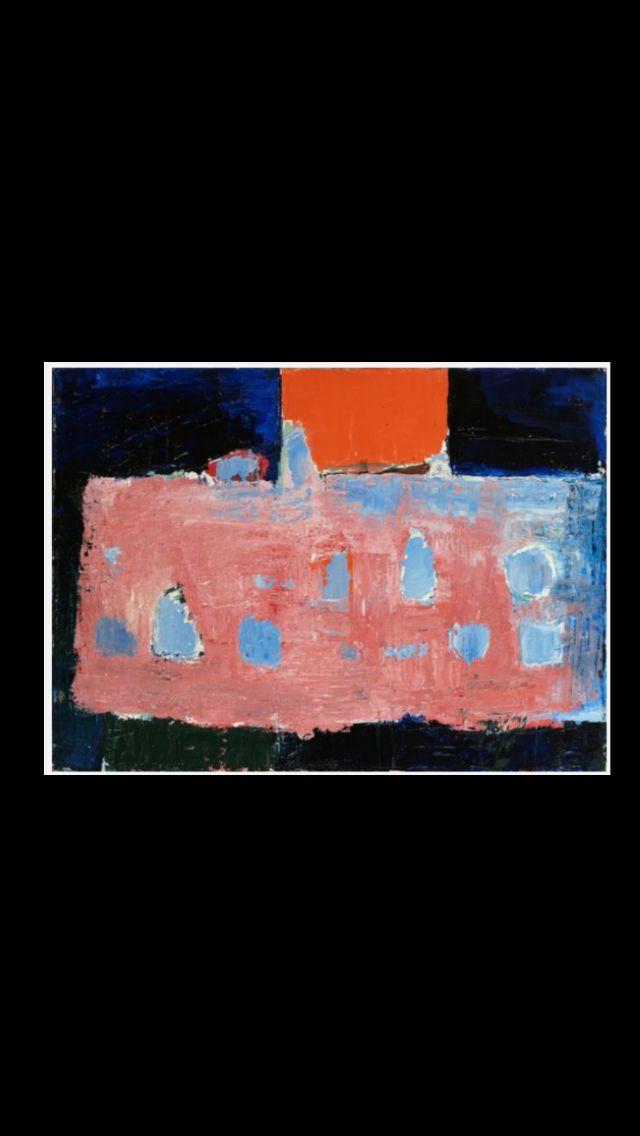 "Nicolas De Staël - ""La table rose"", 1953 - Huile sur toile - 73 x 100 cm (*)"