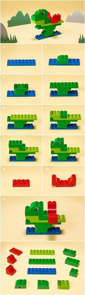 Les 25 meilleures id es de la cat gorie instructions lego sur pinterest con - Idee construction lego ...
