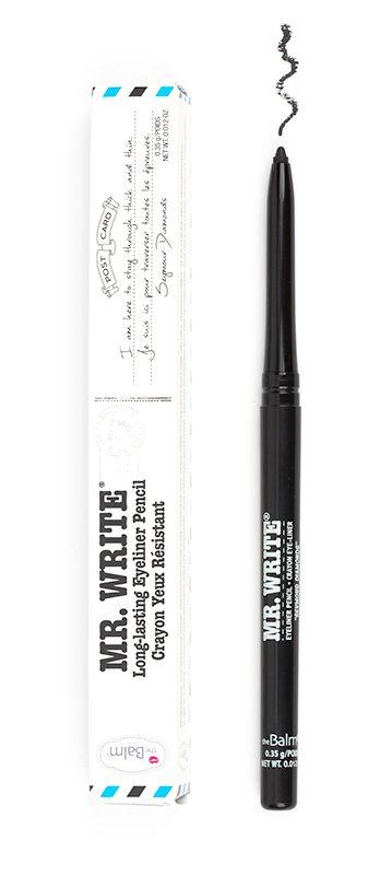 theBalm Cosmetics Mr. Write® Long Lasting Eyeliner Pencil (Seymour Diamonds)  #liners #eyeliner #theBalm