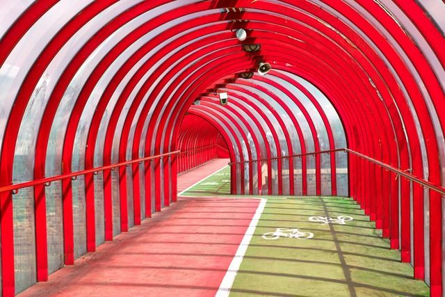 SECC Cycle Track and Pedestrian Walkway, Glasgow