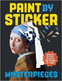 Paint by Sticker Masterpieces: Re-create 12 Iconic Artworks One Sticker at a Time!: Workman Publishing: 9780761189510: Amazon.com: Books
