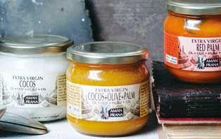 De traditionele vetten van Amanprana: 100% natuurlijk in de keuken en in de badkamer!