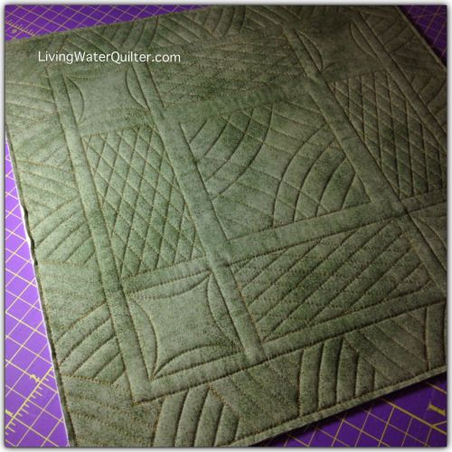 Ruler Work with Dena Wlkins of Living Water Quilter