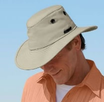 Tilley hats for Men!   My husband has a tilley hat and looks fab in it