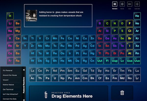 Chemistry resources (web based) are located under this iPad app (free!)