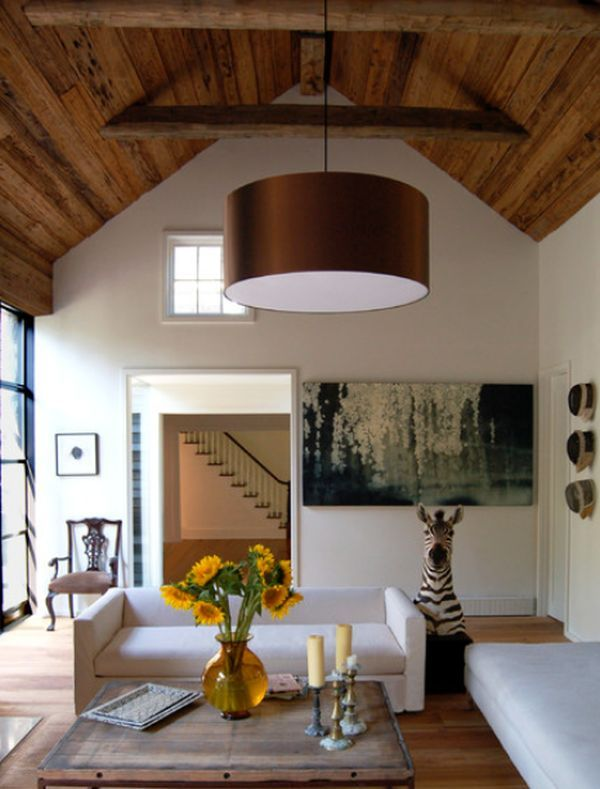 419 best family rooms dens images on pinterest for Industrial farmhouse family room