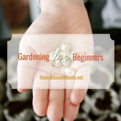 gardening for beginners - I'll need this someday