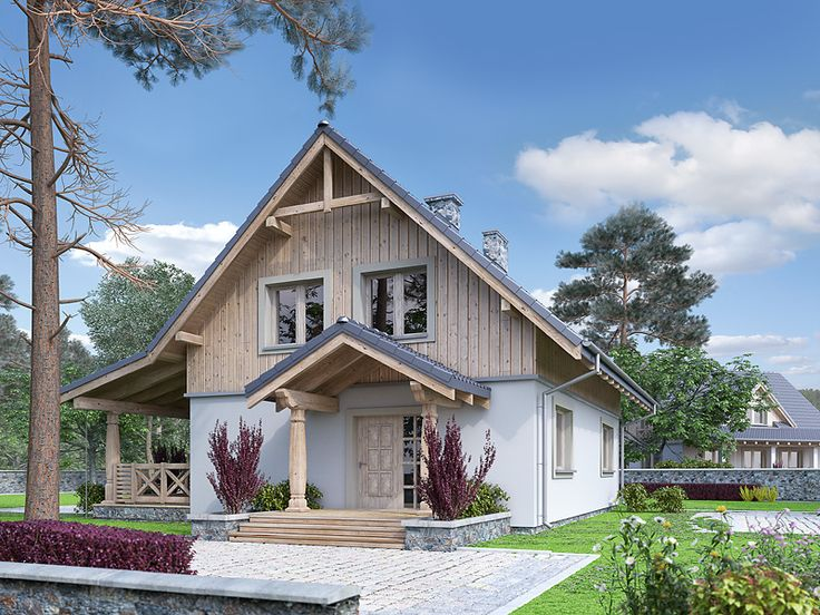 Projekt domu Truskawkowy (121,2 m2). Pełna prezentacja projektu dostępna jest na stronie: https://www.domywstylu.pl/projekt-domu-truskawkowy.php #truskawkowy #domywstylu #mtmstyl #projekty #projektygotowe #dom #domy #projekt #budowadomu #budujemydom #design #newdesign #home #houses #architecture #architektura