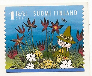 Moomin stamp Finland 2007