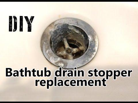 Pin By Julia White On Home Diy In 2020 Bathtub Drain Stopper Bathtub Drain Diy Bathtub