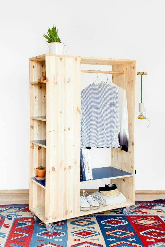 Organisational idea for small spaces
