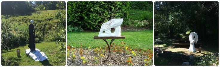 Une exposition de sculptures au Jardin Moore